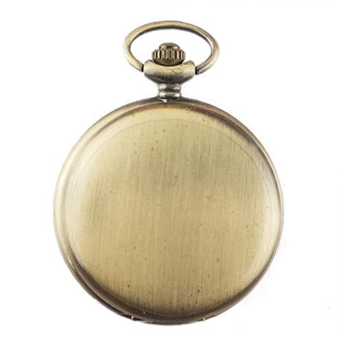 Orologio da tasca, lucido, retrò, casual, collana, orologio da tasca al quarzo, uomo, donna, lista da appendere (quadrante...