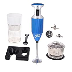 First choice 200 Watts Blue Blender With Attachment