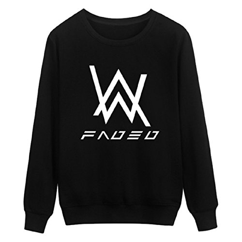 Inception Pro Infinite Sweatshirt mit Langen Ärmeln für Männer und Frauen Alan Unisex Musikalisches Kostüm für Frauen mit schwarz Cosplay Walker (Größe XXXL) (Berühmte Cosplay Kostüme)
