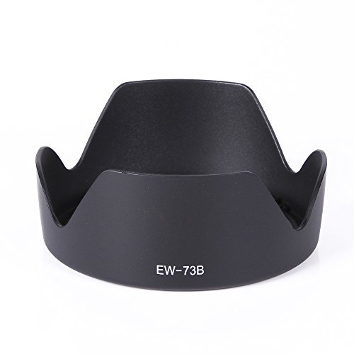 Fotga Lens Hood for Canon 60d 600d 650d 550d 7d EF-S 18-135mm F/3.5-5.6 17-85mm (Replace for EW-73B)  available at amazon for Rs.1499