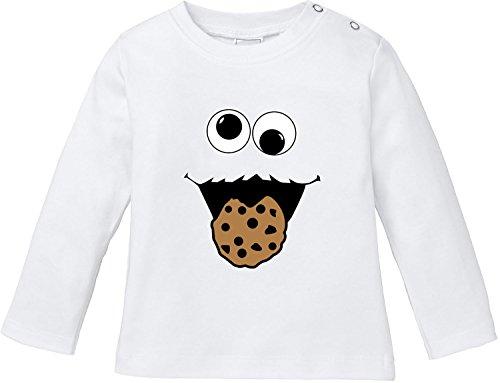 ter Baby T-Shirt Longsleeve Bio Baumwolle (Kind Cookie Kostüme)