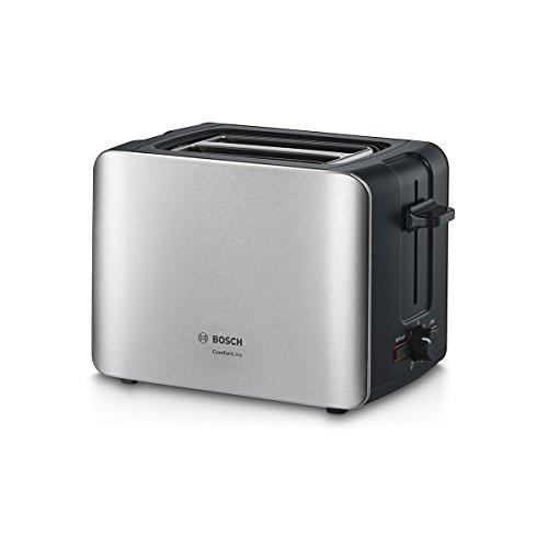Bosch-TAT6A913-Kompakt-Toaster-ComfortLine-automatische-Brotzentrierung-Auftaufunktion-1090-W-edelstahl-schwarz