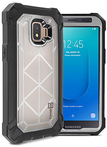 CoverON VitaCase Series Schutzhülle für Galaxy J2, Galaxy J2 Core, strapazierfähige Schutzhülle für Samsung Galaxy J2 Pure / J2 Dash / J2 Core, farblos T-mobile Dash-serie