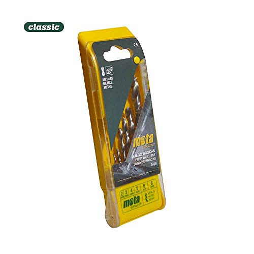 Jeu de 5 forets p. bois de 4 mm à 10 mm mmj5