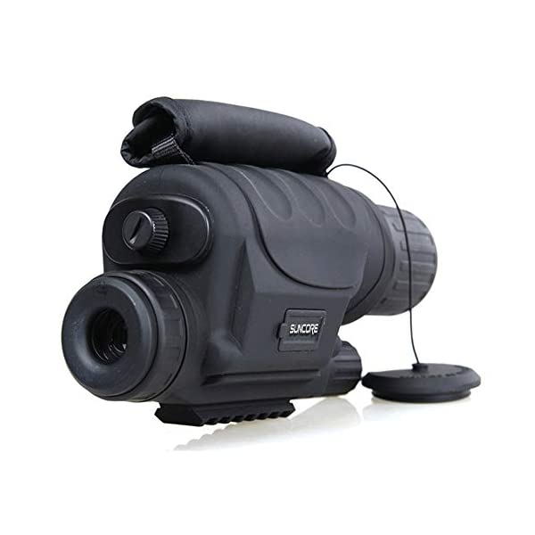 5X40mm Infrared HD Digital Night Vision Monocular,With 1.5 Inch TFT LCD And Camera Hunting And Observing Wildlife Security Surveillance