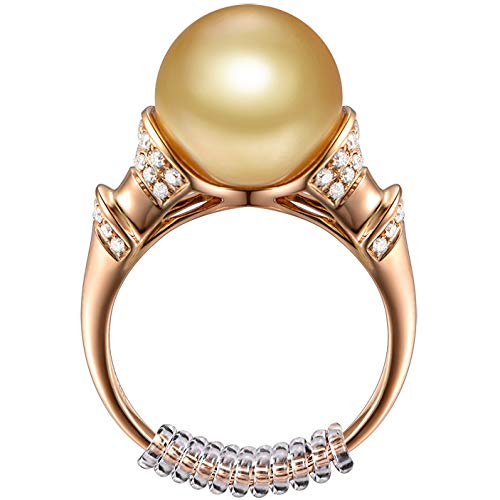 Regolatore ad anello invisibile per anelli larghi - Ring Guard, Ring Sizer, 4 dimensioni Adatta praticamente a qualsiasi anello. [12 pezzi]