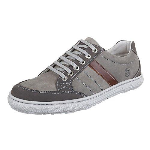Ital-Design , Sneakers Basses homme Gris - Gris