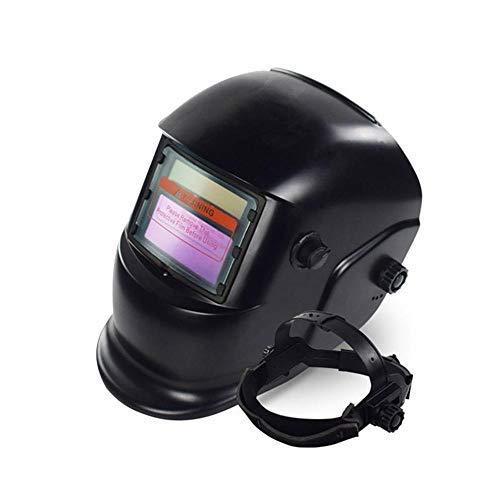 FOONEE Casco para Soldar, Casco para Soldar con Oscurecimiento Automático y Energía Solar Lente Ancha Ajustable para Máscara de Soldador de Arco Mig TIG