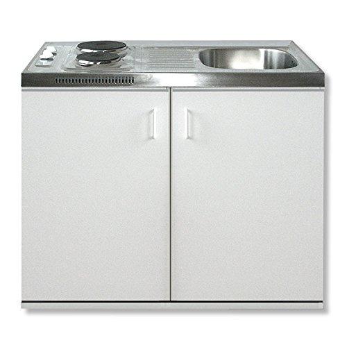 ROLLER Singleküche - weiß - 100 cm Breite