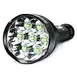 E-Plaza Hohe Energie Super Bright 8000 Lumen 7 x CREE XM-L T6 LED Taschenlampe
