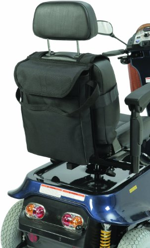 Drive Mobility Scooter Overseat Saddle Bag in, Black