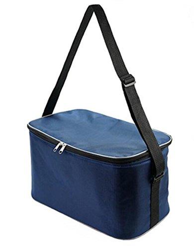 18l große lunchpaket thermo - picknick im freien feld almuerzo handtaschen kühler lagerung portable 6