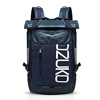 FANDARE Mochila de Viaje 15.6 Pulgada Ordenador Portátil Backpack Camping Mochila de Montañismo Hombre Mujer Impermeable Poliéster