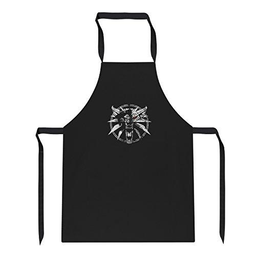 TEXLAB - Hexer Logo - Schürze, schwarz
