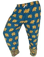 by soljo - Pantalon pantalons de loisirs sportifs pantalon Elephant jade