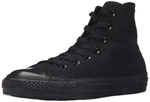 Converse Men's Chuck Taylor All Star Ox Sneakers (10 B(M) US Women / 8 D(M) US Men, Black Monochrome) - Ox Black Monochrome