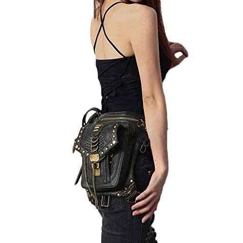 Bolso para cintura grande negro