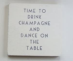 New Coaster Drink Champagne and Dance on the Table