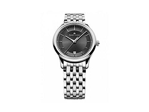 Maurice Lacroix Les Classiques orologio al quarzo, grigio, 38mm, lc1237-ss002-331-1