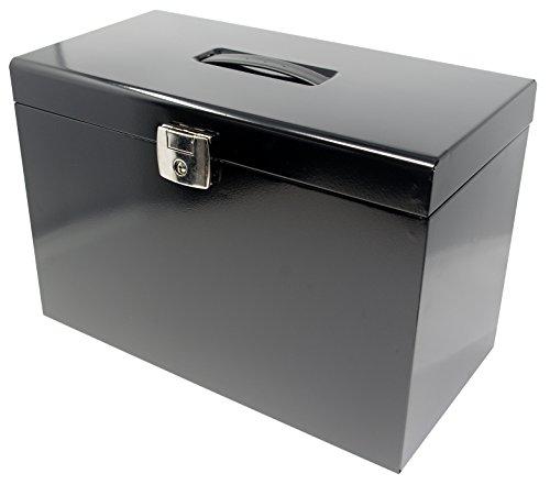 Datei Aufbewahrungsbox–INC 5Hängemappen, Abheften Taben & fügt (Datei-boxen Mit Deckel)