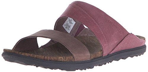 Merrell Around Town Slide, Sandales ouvertes femme Violet - Violett (FREESIA)