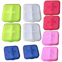 Gowind6 Pillendose für Tabletten, 10 Stück preisvergleich bei billige-tabletten.eu