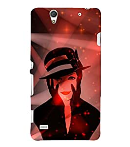 Kill You With My Face 3D Hard Polycarbonate Designer Back Case Cover for Sony Xperia C4 Dual E5333 E5343 E5363 :: Sony Xperia C4 E5303 E5306 E5353
