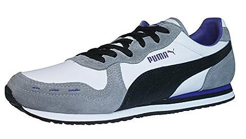 Puma Cabana Racer II LS Womens Leder Schuhe Sneaker / Schuh - weiß - SIZE EU 41