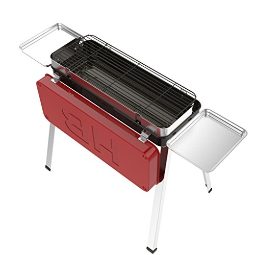 YONG@ BBQ de long et de grande capacité de BBQ d'acier inoxydable pliant extérieur de BBQ de capacité