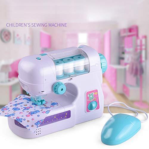 TAOtTAO Elektrische Nähmaschine Kinderspielhausspielzeug Nähstudio Maschine Nähen Intelligenz Aktivitäten Spielzeug für Mädchen Kinder