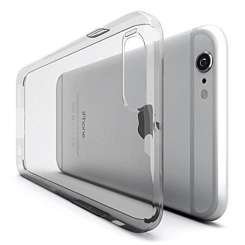 iPhone 6 Handyhülle [ULTRA DÜNN] Original Urcover® Schutz Hülle für das Apple iPhone 6 TPU Silikon [Deutscher Fachhandel] Case Cover Schale Flip Tasche Etui Rosa Transparent Klar