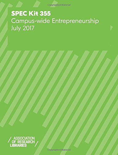 SPEC Kit 355: Campus-wide Entrepreneurship