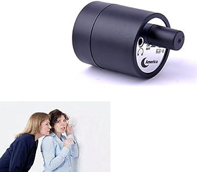 Mengshen® Altamente Sensible al Mini audio del micrófono del oído dispositivo de escucha Amplificador de audiencia pared Gadget de escuchas telefónicas del dispositivo en la pared / puerta con el auricular MS-HC29
