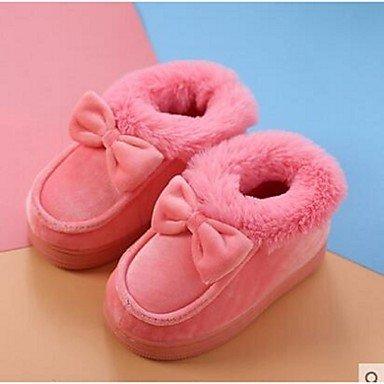 LQXZM Unisex Hausschuhe &Amp; Flip-Flops Comfort Velours Casual Schwarz Rosa Lila Tan Peach