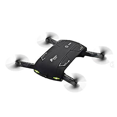 Lishy New MINI Selfie Foldable Quadcopter G-sensor 0.3MP Camera WIFI FPV RC Drone