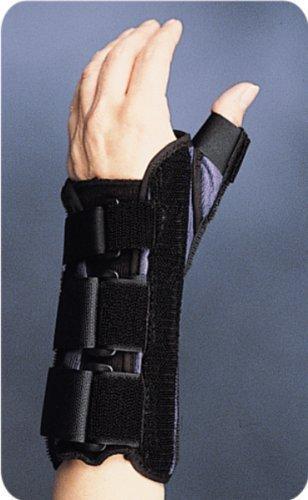 Primo-Supporto ortopedico per polso, per mano sinistra, misura Extra Large, in stile coloniale, assistito dai dispositivi medici