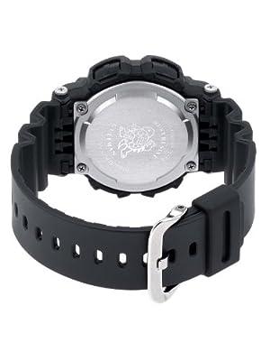 CASIO G-Shock G-9100-1ER - Reloj de caballero de cuarzo, correa de resina color negro (con cronómetro, alarma, luz)