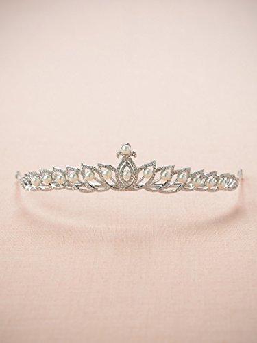 SWEETV El Cuento De hadas Lotus Inspiró La Princesa Tiara Venda Páginaant Boda Corona