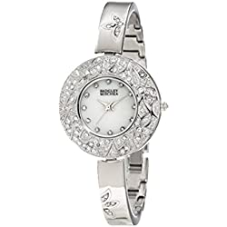 Badgley Mischka Ladies Watch Casual Analog Casual Quartz Watch BA-1095MPSV