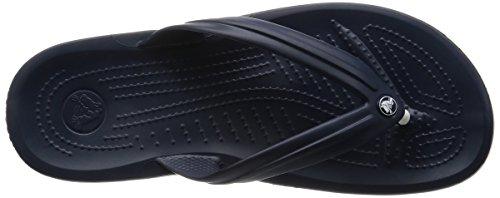 Crocs Crocband Flip U, SaCrocs Crocband Flip U, Sandali, Unisex - adulto Blu (Navy)