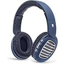 iBall Decibel BT01 Smart Headset with Alexa Enabled (Blue, Black and Silver)