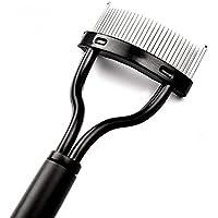 Vvciic 1PCS compone el rimel de pestañas peine aplicador Guía Brocha rizador de herramienta Negro