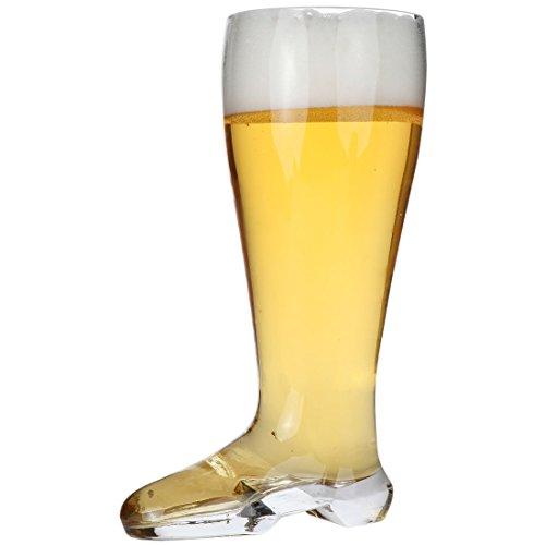 Lily's Home® Das Boot Verre de bière. Bière de coffre Stein, verre, 2 Liter, 2 Liter