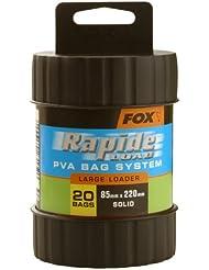 Fox - Cartucho para bolsas de PVA para pescar (todos los tamaños) Talla:85mm x 220mm
