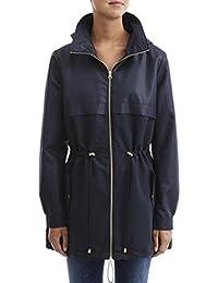 Vila - Navy Spring Panelled Jacket Size M