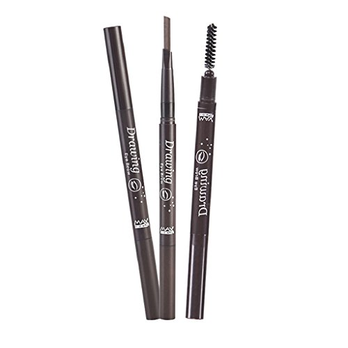 overdose-makeup-1pc-automatic-rotation-waterproof-double-headed-eyebrow-pencil-with-brush