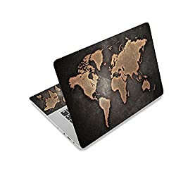World Map Laptop Skin Decal Sticker Cover Notebook Protector For Macbook/ Lenovo/ Hp/ Asus/ Acer,10