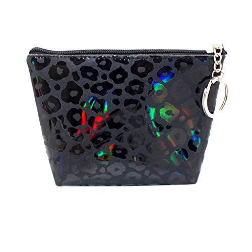 Strass Leopard-druck-handtasche (Taktom Ladies Clutch Bag \ Clutch Evening Bag \ Bridal Bag \ Wedding Clutch Tasche Handtasche Frauen Mädchen Leopard Druck Münzen Geldbeutel Mappen Beutel Ändern Beutel Schlüsselhalter)