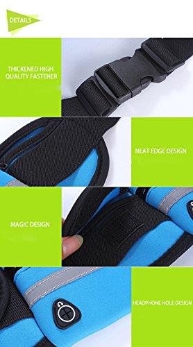 Sport Waistpacks impermeabile cintura marsupio uso per iPhone 7, iPhone 7Plus, iPhone / Plus/6s, IPHONE6PLUS, Dark Blue,Iphone6 / 6s Dark Blue,Iphone6 / 6s