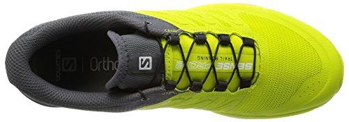 Salomon Sense Pro 2, Chaussures de Running Compétition Homme Vert (Gecko Green/Gecko Green/Dark Cloud)